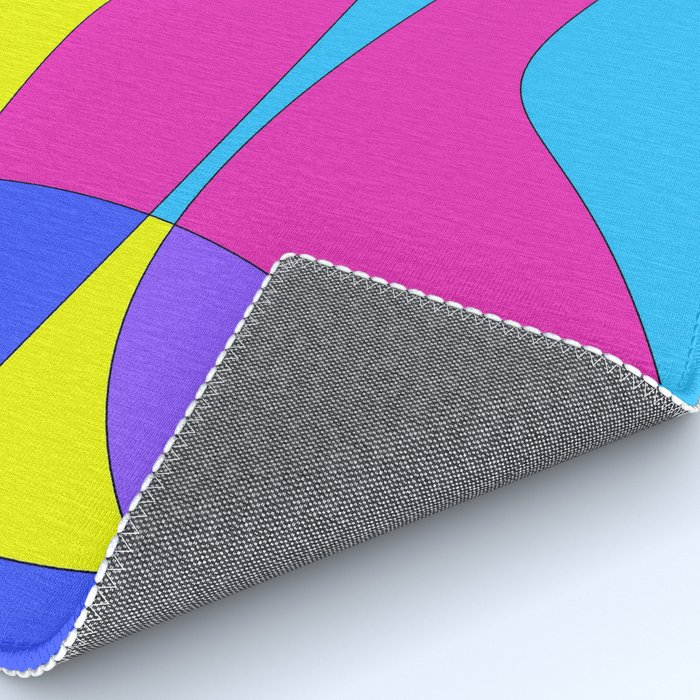 Colors in Sound Neon Rug