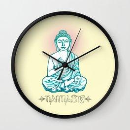 Buddha Namaste Wall Clock