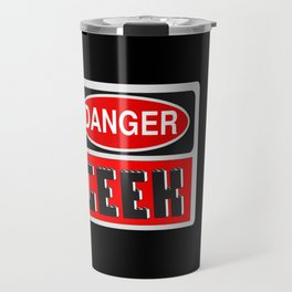 Danger Geek by Chillee Wilson Travel Mug