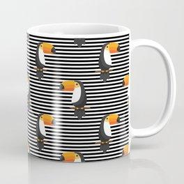 TOUCANS PATTERN tropical toucan Coffee Mug