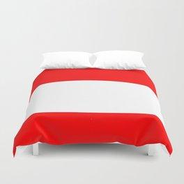 flag of austria 3 -,Österreich,Austrian,Österreicher,Vienna,Salzburg,Mozart, Schoenberg Duvet Cover