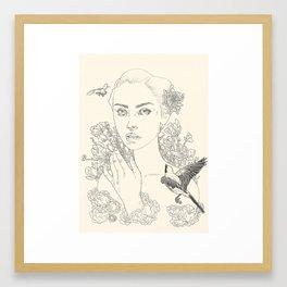 Chrysanthemum (The Duel) Framed Art Print