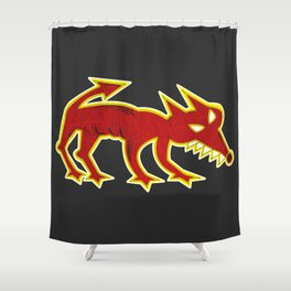 Hellhound Shower Curtain