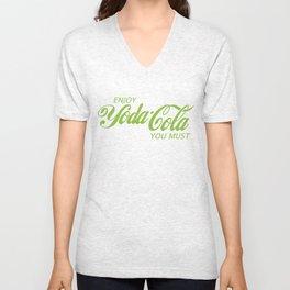 Yoda Cola (Green) Unisex V-Neck