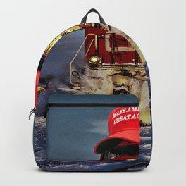 MAGA Train Backpack