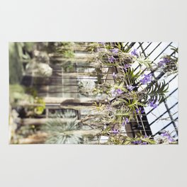Orchids in the Air  //  The Botanical Series Rug