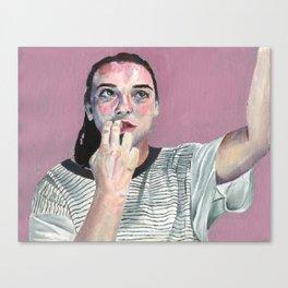 Selfie Canvas Print