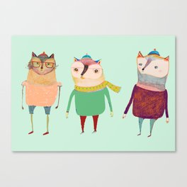 The Cats. Canvas Print