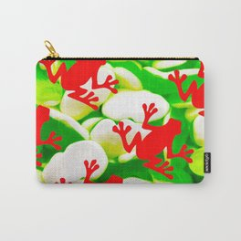Box of Frogs Carry-All Pouch