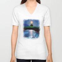 velvet underground V-neck T-shirts featuring Underground Hope. by Viviana Gonzalez