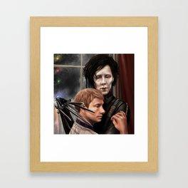 Sherlock Scissorhands Framed Art Print