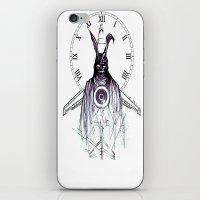 donnie darko iPhone & iPod Skins featuring Donnie Darko: Frank by Forrest Wright