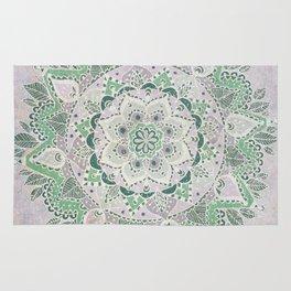 Spring Rain Mandala Rug