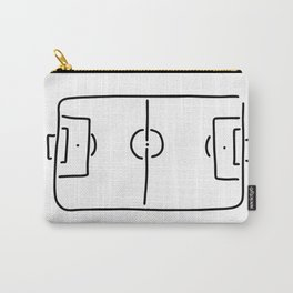 soccer football field Carry-All Pouch