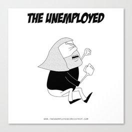 The Unemployed - Monni Canvas Print