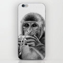 Cheeky Monkey iPhone Skin
