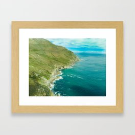 Cape Town Cruise Framed Art Print