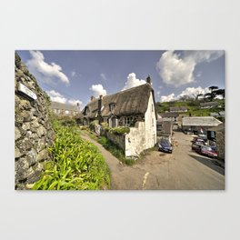 Cadgwith Thatch  Canvas Print
