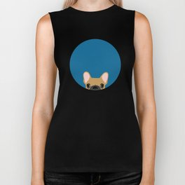French Bulldog Biker Tank