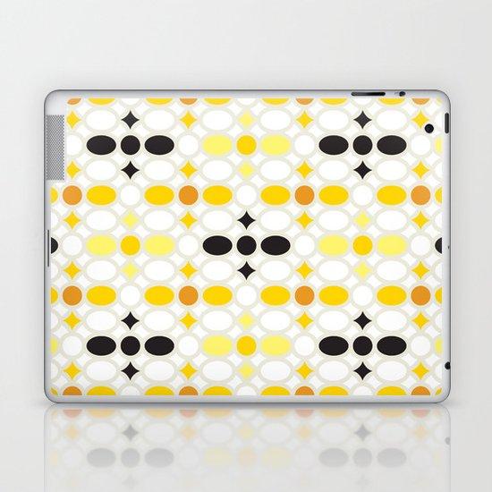 Stone Wall (Cockatoo Yellow) Laptop & iPad Skin