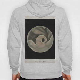The Trouvelot Astronomical Drawings (1881) - The Planet Mars, 1877 Hoody