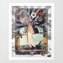 MINGA | touch(v.) Art Print
