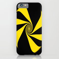 Abstract. Yellow Ribbon. iPhone 6s Slim Case