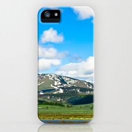 Yellowstone Mountain iPhone Case