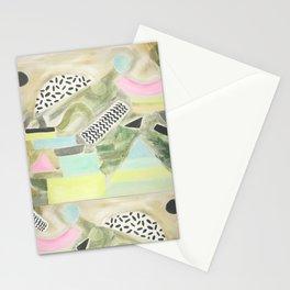 Pastel Garden Geo Milano Stationery Cards