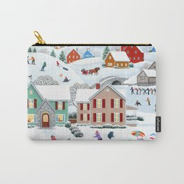 Once Upon a Winter Carry-All Pouch