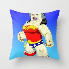 Wonder Wampa Throw Pillow