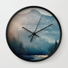 The Sweetest Thing Wall Clock