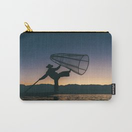 Burmese Fisherman Carry-All Pouch