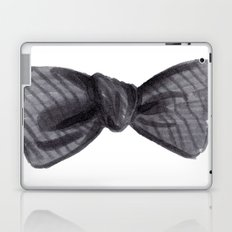 Striped Bow Laptop & iPad Skin
