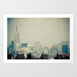 New York: Brooklyn Bridge Art Print