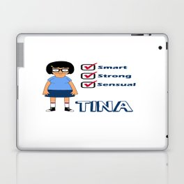 TINA- Smart, Strong, Sensual Laptop & iPad Skin