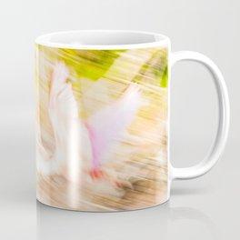 Flamingo flying in the EvVerglades National Park Coffee Mug
