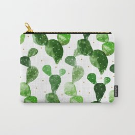 cactus watercolor pattern Carry-All Pouch