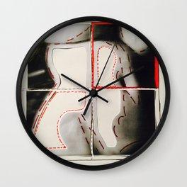 PedonPixels Wall Clock