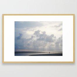 Solitaire Walk Framed Art Print