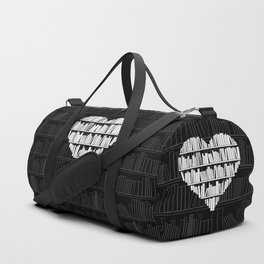 Book Lover Duffle Bag