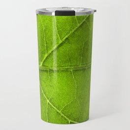 Leaf Veins Travel Mug