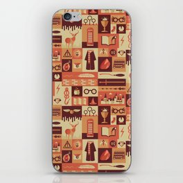 Accio Items iPhone Skin