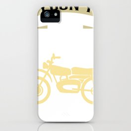 I Dream a Motorcycle iPhone Case