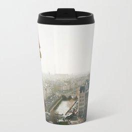Gargoyle in Paris Travel Mug