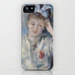 Portrait of Mademoiselle Marie Murer iPhone Case