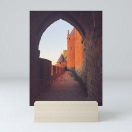 France - Secret Passageway to French Castle Mini Art Print