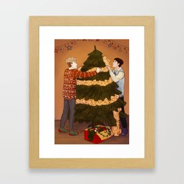 Shingeki No Christmas - Jeanmarco I Framed Art Print