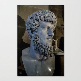 Statue. Canvas Print