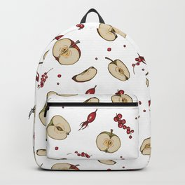 Apple and currant compote Backpack